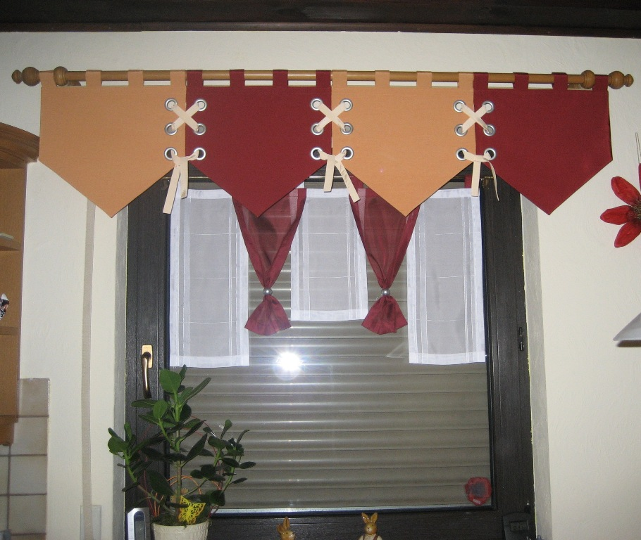 Kuchenfenster vorhange ideen mobelideen uncategorized for Gardinen küche